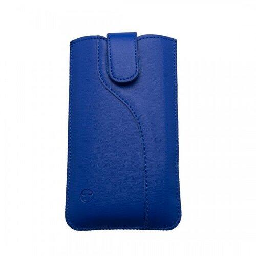 Univerzálne vsuvkové puzdro 4.7' rozmer 138.4x67.3x7.3, S-line vzor, modrá