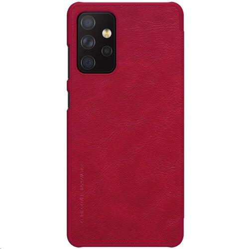 Nillkin Qin Book Pouzdro pro Samsung Galaxy A72 Red