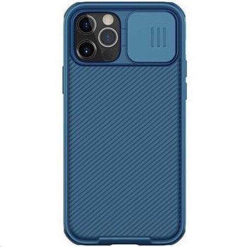 Nillkin CamShield Pro Magnetic Zadní Kryt pro iPhone 12 Pro Max 6.7 Blue