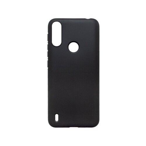 Motorola E7 Power gumené puzdro, čierne matné