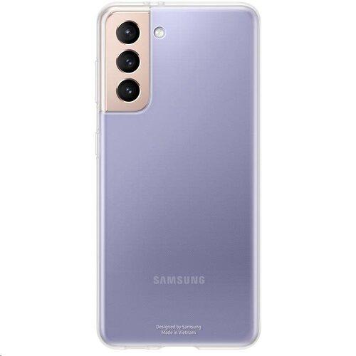 Samsung priehľadný zadný kryt EF-QG991TTE pre S21, transparentné