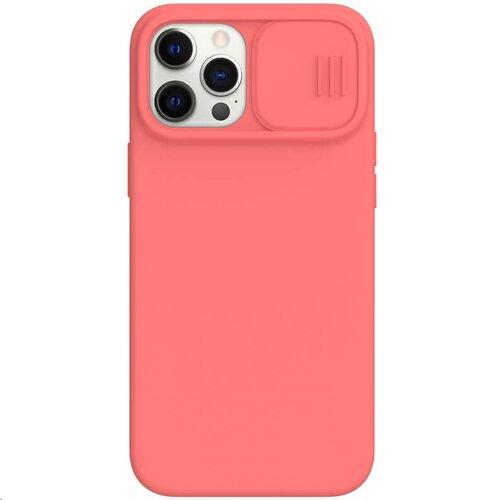 Nillkin CamShield Silky Magnetic Silikonový Kryt pro iPhone 12 Pro Max 6.7 Orange Pink