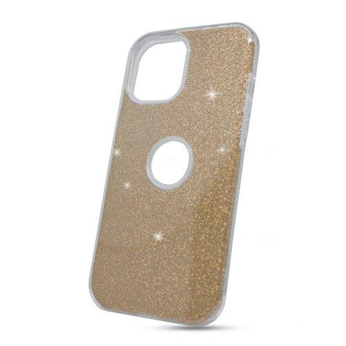Puzdro Shimmer TPU iPhone 12 Pro Max - zlaté