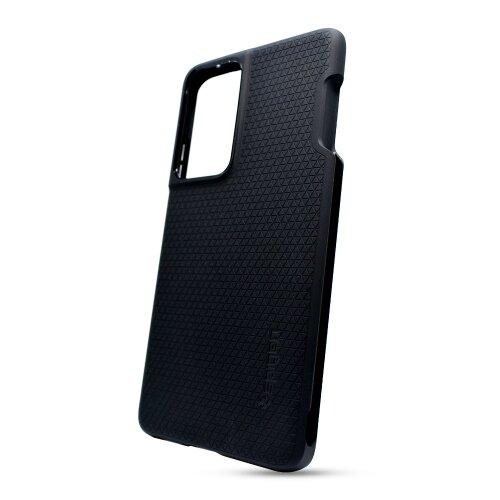 Puzdro Spigen Liquid Air PEN Samsung Galaxy S21 Ultra G998 - čierne