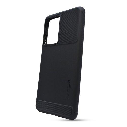 Puzdro Spigen Rugged Armor Samsung Galaxy S21 Ultra G998 - čierne
