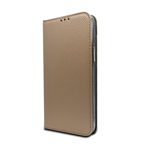 Puzdro Smart Book Huawei P Smart 2021 - zlaté