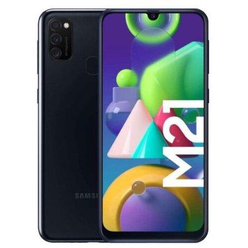 Samsung Galaxy M21 4GB/64GB M215F Dual SIM, Čierna - porušené balenie