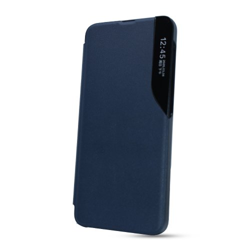 Puzdro Smart Flip Book Huawei P Smart 2021 - tmavomodré