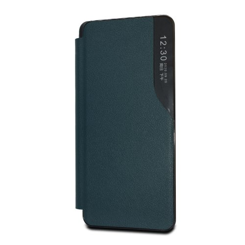 Puzdro Smart Flip Book Xiaomi Redmi 9C - tmavo zelené