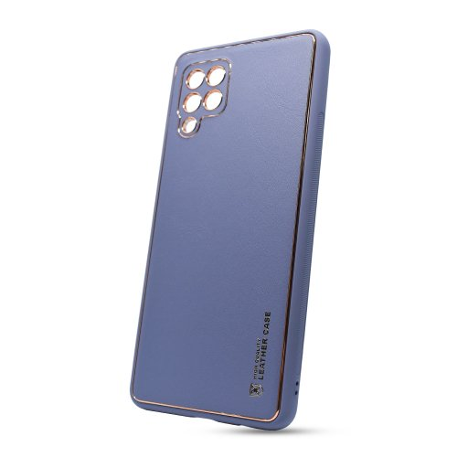 Puzdro Leather TPU Samsung Galaxy A42 A426 - modré