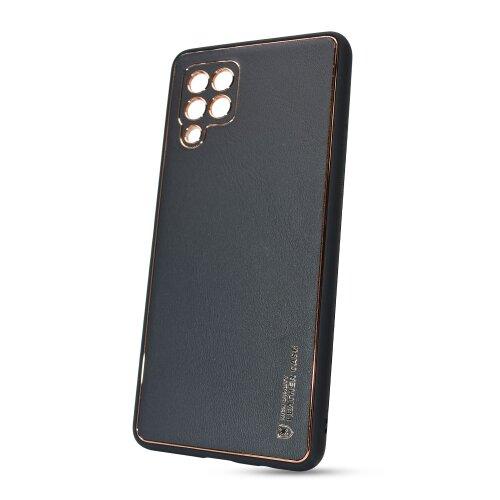 Puzdro Leather TPU Samsung Galaxy A42 A426 - čierne