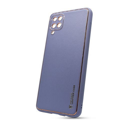 Puzdro Leather TPU Samsung Galaxy A12 A125 - modré