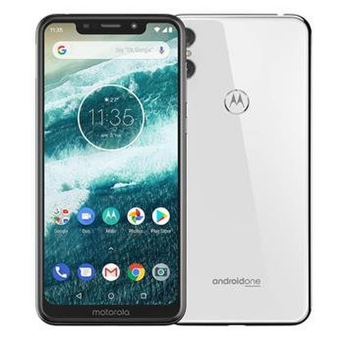 Motorola One 4GB/64GB Dual SIM Biely - Trieda D nenačíta SIM kartu