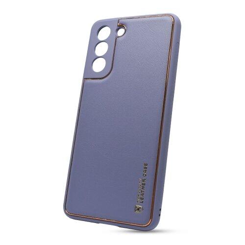 Puzdro Leather TPU Samsung Galaxy S21 G991 - modré