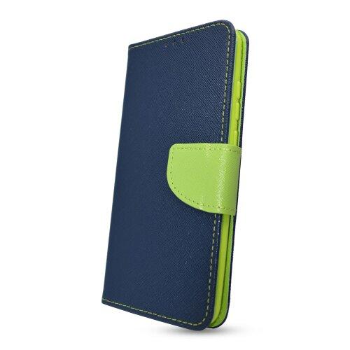 Puzdro Fancy Book Samsung Galaxy Xcover 5 - modro-limetkové
