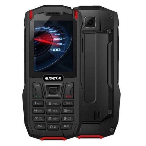 Aligator K50 eXtremo LTE, Dual SIM, Čierno-červený - porušené balenie