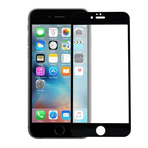 Ochranné sklo 5D Glass iPhone 6/6s celotvárové - čierne (full glue)