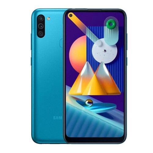 Samsung Galaxy M11 3GB/32GB M115F Dual SIM, Modrá - porušené balenie