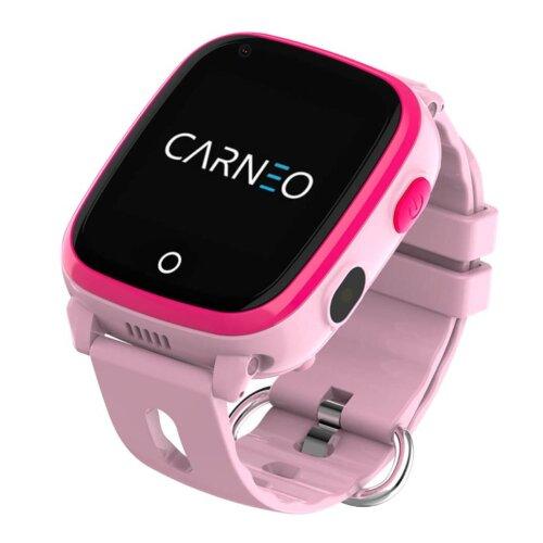 CARNEO Smart hodinky GuardKid+ 4G Ružové - detske hodinky GPS a 4G