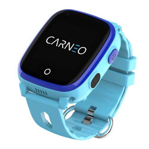 CARNEO Smart hodinky GuardKid+ 4G Modré - detske hodinky GPS a 4G