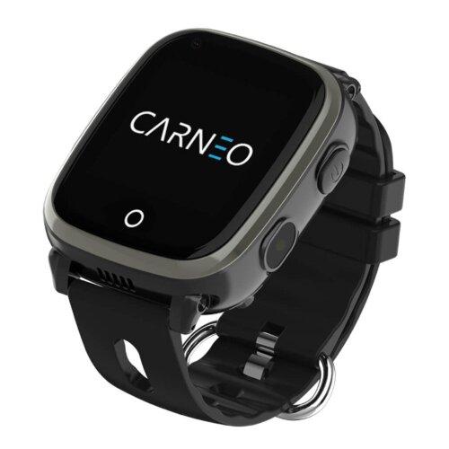 CARNEO Smart hodinky GuardKid+ 4G Čierne - detske hodinky GPS a 4G