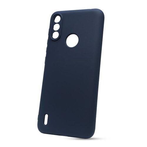 Puzdro Liquid Lite TPU Motorola E7 Power - tmavo modré