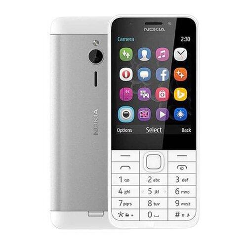 Nokia 230 Dual SIM, Strieborný - porušené balenie