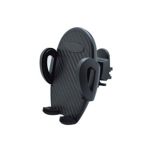 Držiak na telefón do vetracej mriežky auta, čierny karbón