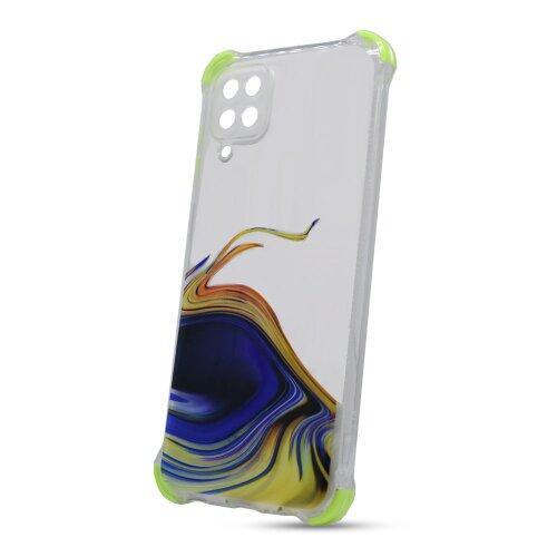 Puzdro Water TPU Samsung Galaxy A12 A125 vzor 2 - žlté