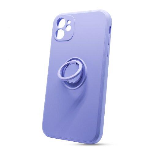 Puzdro Finger TPU iPhone 11 (6.1) - levanduľové