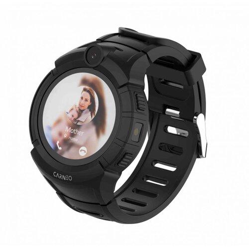 CARNEO Smart hodinky GuardKid+ Čierne - detske hodinky GPS