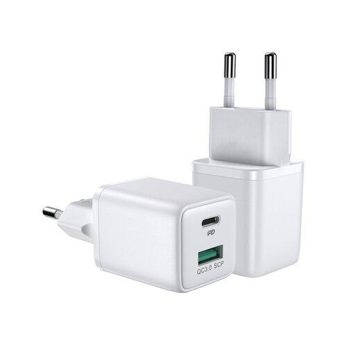 Joyroom L-QP303 30W Mini Intelligent Dualportfast Charger White