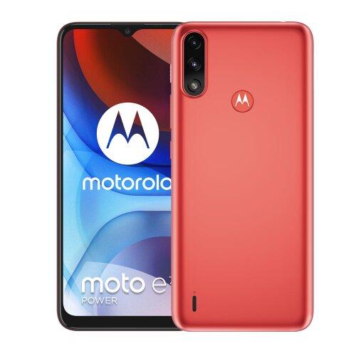 Motorola Moto E7 Power 4GB/64GB Dual SIM, Červená - porušené balenie