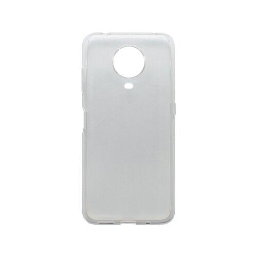 mobilNET silikónové puzdro Nokia G20, priehľadné, Moist 1.2mm
