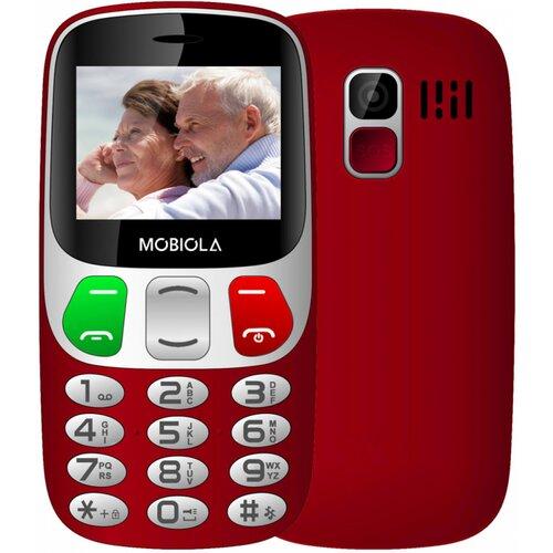 Mobiola MB800 Lite Dual SIM, Červený