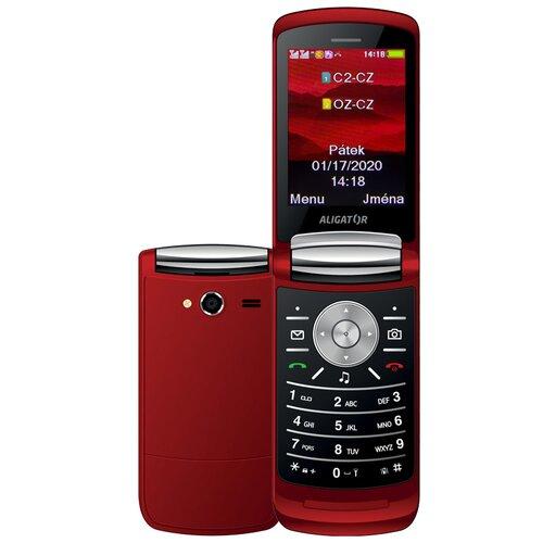 Aligator DV800 Dual SIM, Červený - porušené balenie